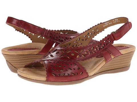 Earth - Tulip (Regal Red Full Grain Leather) Women