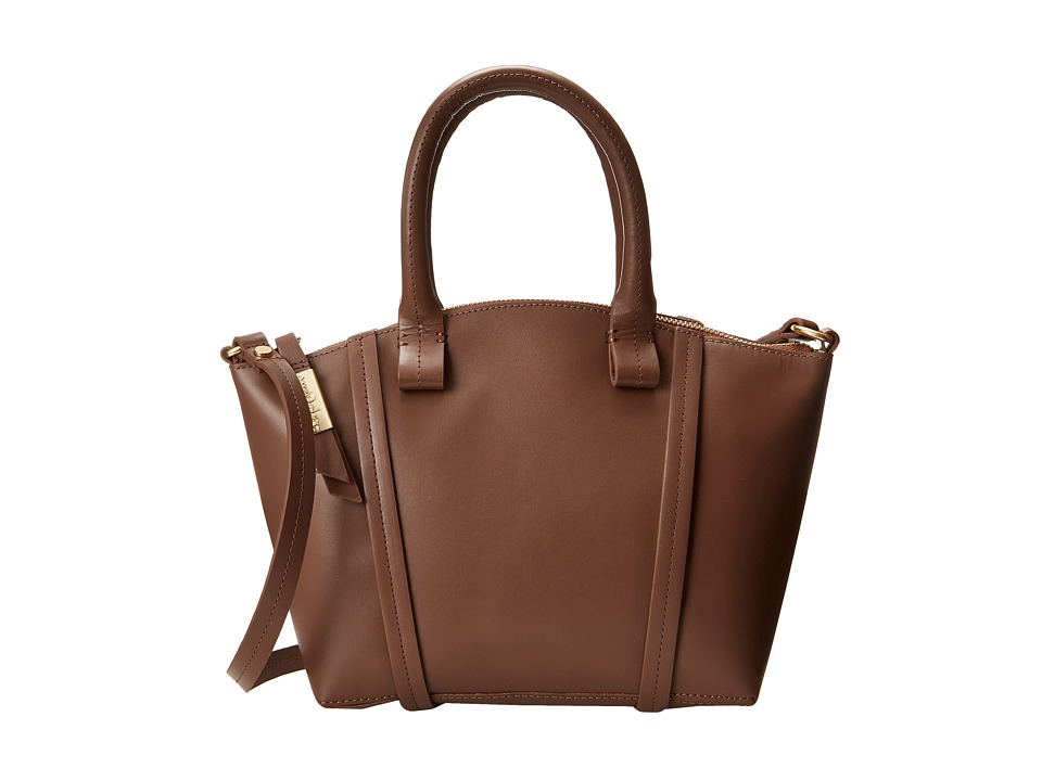 Foley & Corinna - Tucker Small Satchel (Truffle) Satchel Handbags