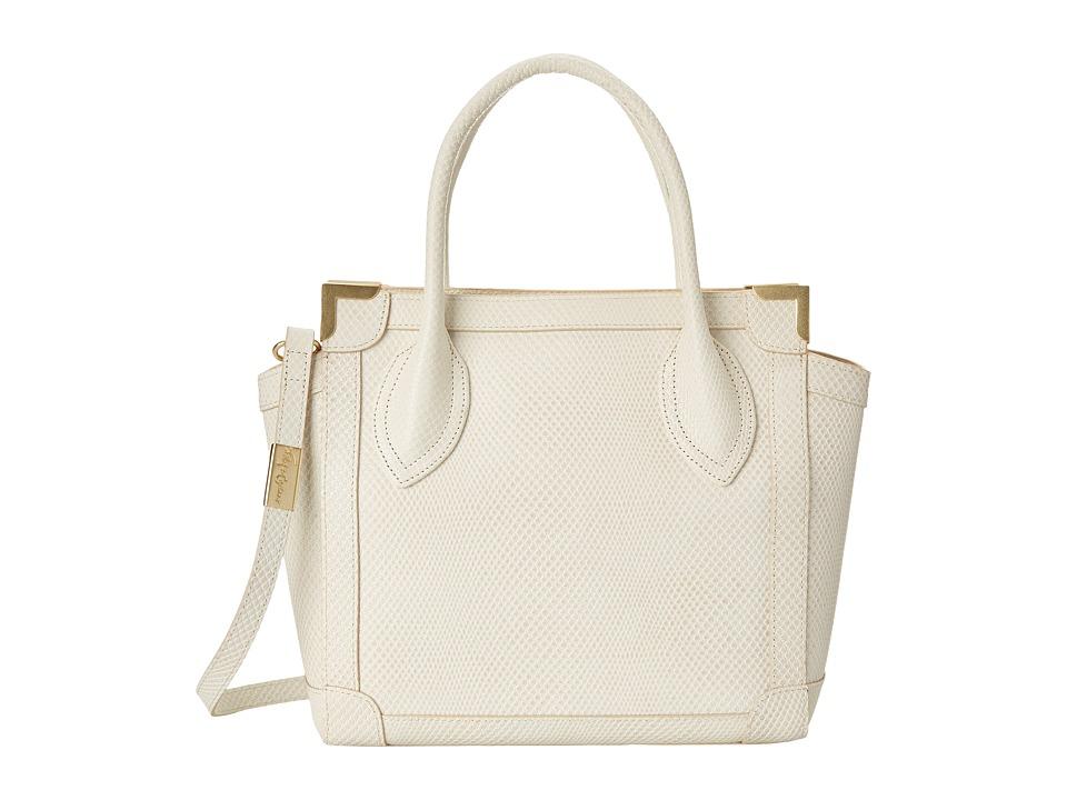 Foley & Corinna - Framed Mini Shopper (Shell) Satchel Handbags