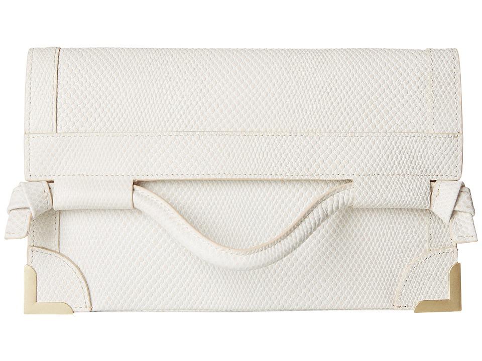 Foley & Corinna - Framed Flap Crossbody (Shell) Cross Body Handbags