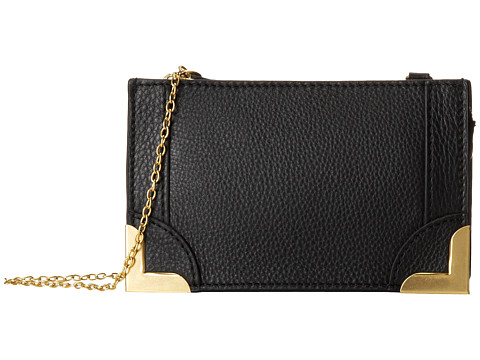 Foley & Corinna - Framed Petite Crossbody (Black) Cross Body Handbags