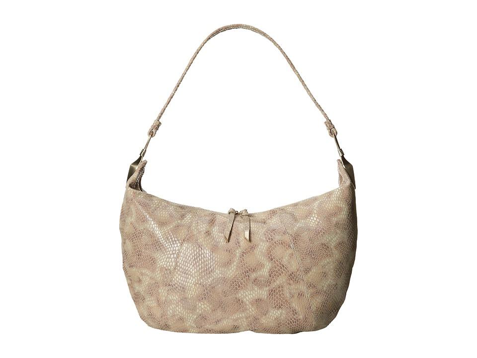 Foley & Corinna - Lilou Hobo (Camel Python) Hobo Handbags