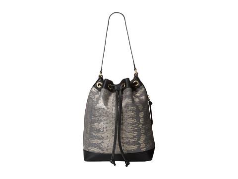Foley & Corinna - Billy Bucket (Metallic Lizard) Hobo Handbags