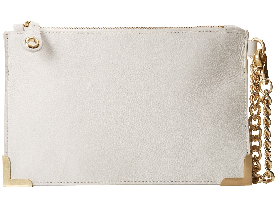 Foley & Corinna - Framed Wristlet Clutch (White) Clutch Handbags
