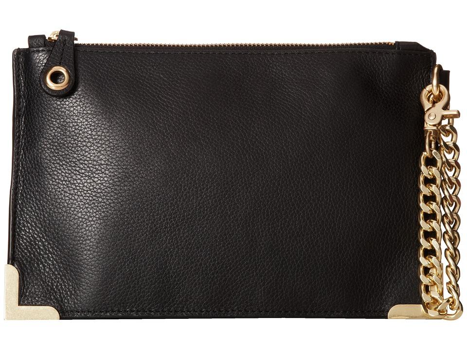 Foley & Corinna - Framed Wristlet Clutch (Black) Clutch Handbags