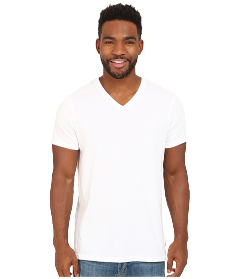 Billabong - Essential Tailored V-Neck Tee (White) Men