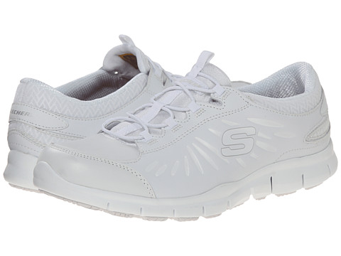 SKECHERS Work - Eldred Fresno (White) Women's Industrial Shoes