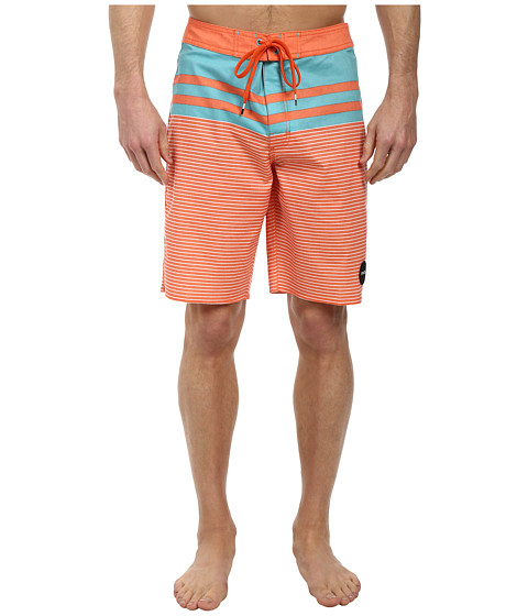 RVCA - Honcho Trunk (Pumpkin) Men's Swimwear