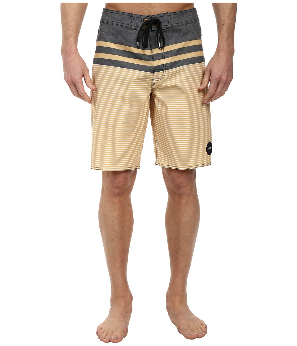 RVCA - Honcho Trunk (Black) Men's Swimwear