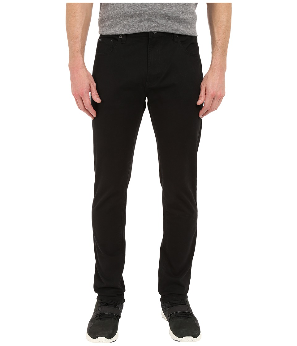 RVCA - Daggers Twill (Black) Men's Casual Pants
