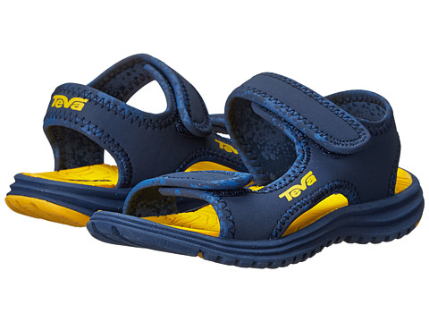 Teva Kids - Tidepool (Toddler/Little Kid/Big Kid) (Navy/Yellow) Boys Shoes