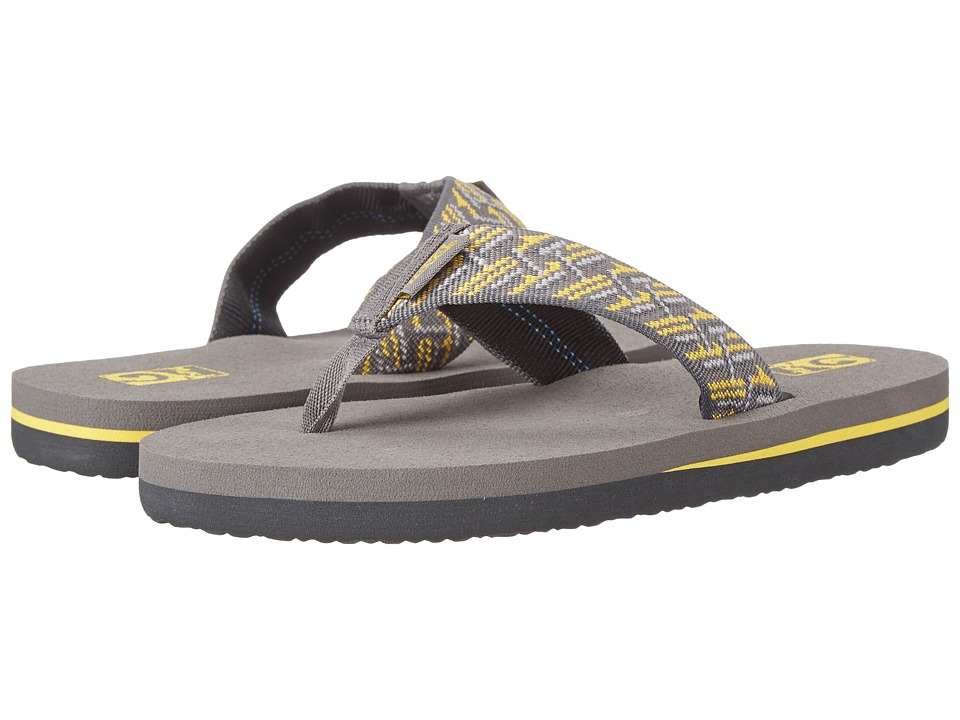 Teva Kids - Mush II (Little Kid/Big Kid) (Fast Weave Gray/Yellow) Boys Shoes