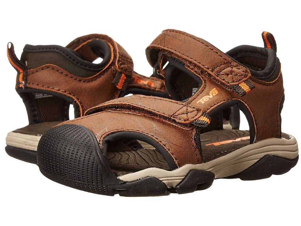 Teva Kids - Toachi 3 (Toddler/Little Kid/Big Kid) (Brown/Orange) Boys Shoes