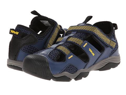 Teva Kids - Jansen (Toddler/Little Kid/Big Kid) (Navy/Yellow) Boys Shoes