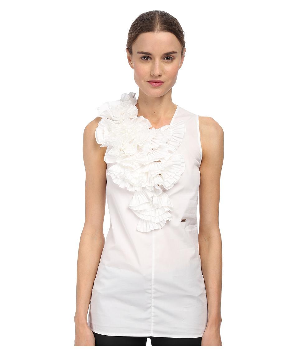 DSQUARED2 - S75NC0458 S36275 100 (White) Women's Sleeveless
