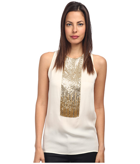 DSQUARED2 - S75NC0480 S40249 101 (Off White) Women's Sleeveless