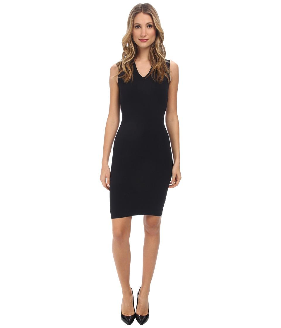 DSQUARED2 V-Neck Sheath Dress (Black) Women