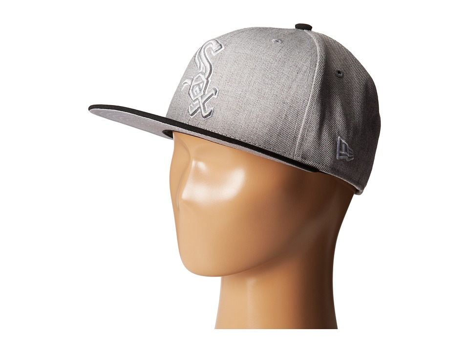 New Era - Heather Two-Tone Chicago White Sox (Light/Pastel Grey) Caps