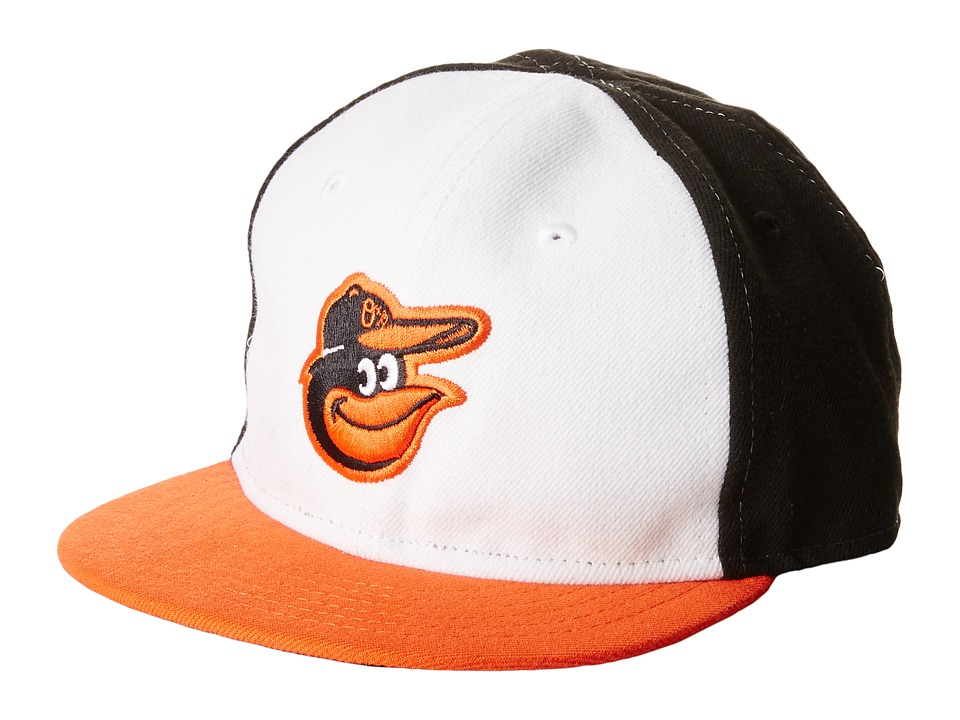 New Era - My First Authentic Collection Baltimore Orioles Home Youth (White) Caps