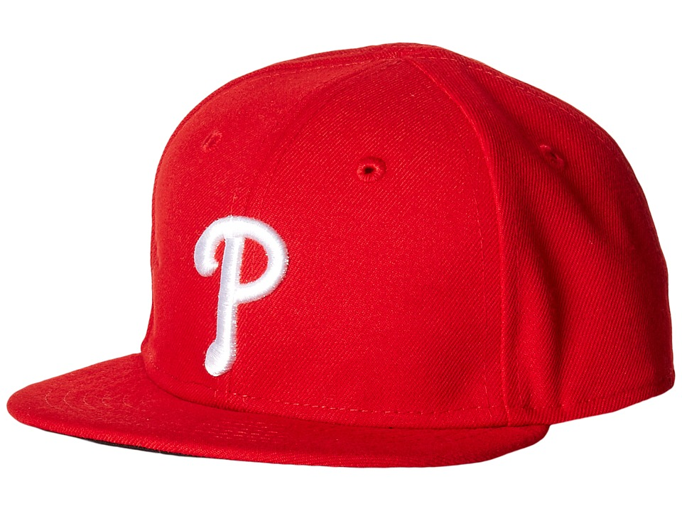 New Era - My First Authentic Collection Philadelphia Phillies Game Youth (Red) Caps