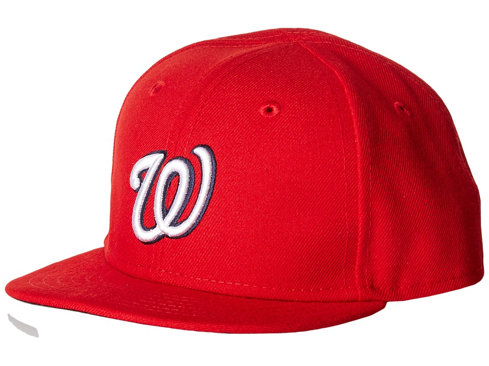 New Era - My First Authentic Collection Washington Nationals Home Youth (Red) Caps