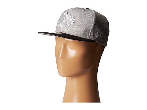 New Era - Heather Two-Tone Oakland Athletics (Light/Pastel Grey) Caps