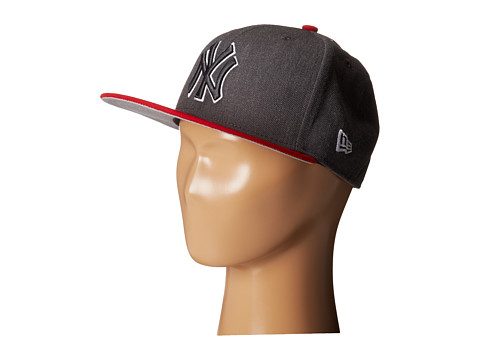 New Era - Heather Two-Tone New York Yankees (Charcoal) Caps
