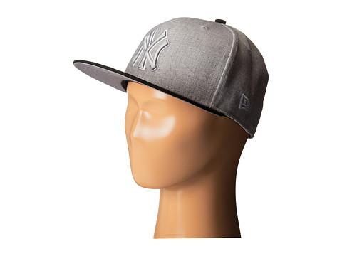 New Era - Heather Two-Tone New York Yankees (Light/Pastel Grey) Caps