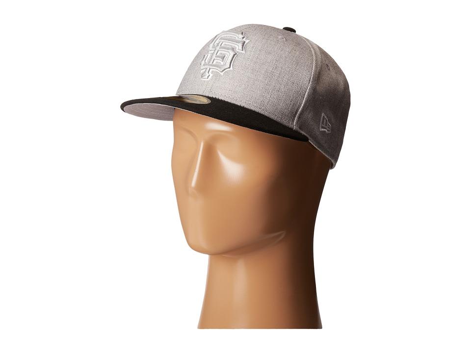 New Era - Heather Two-Tone San Francisco Giants (Light/Pastel Grey) Caps