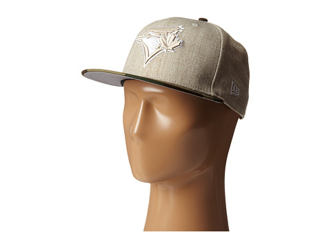 New Era - Heather Two-Tone Toronto Blue Jays (Light Beige) Caps