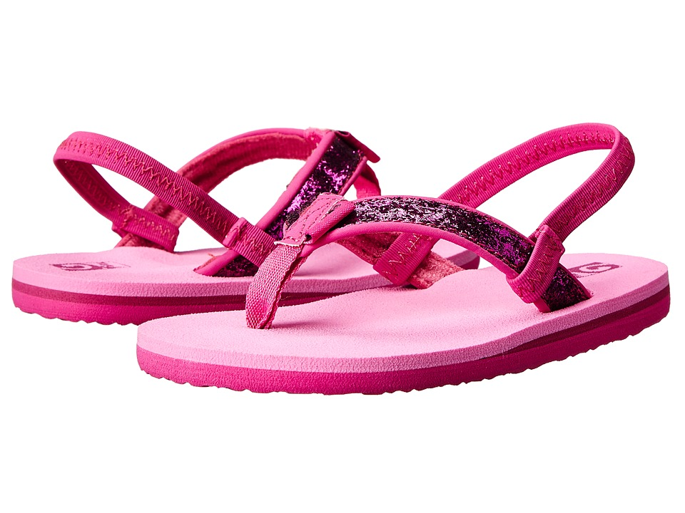 Teva Kids - Mush II (Toddler) (Pink Glitter) Girls Shoes