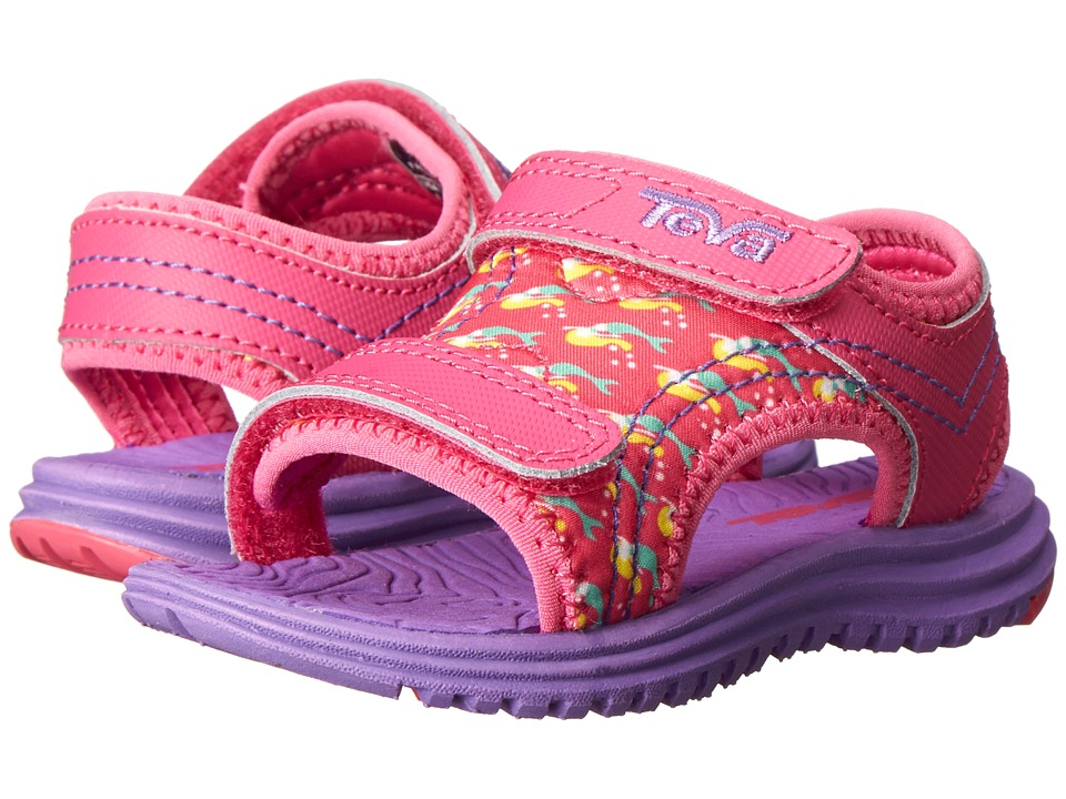Teva Kids - Psyclone 5 (Toddler) (Mermaids Pink) Girls Shoes