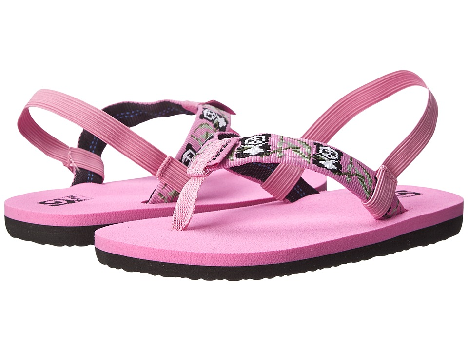 Teva Kids - Mush II (Toddler) (Panda Pink) Girls Shoes