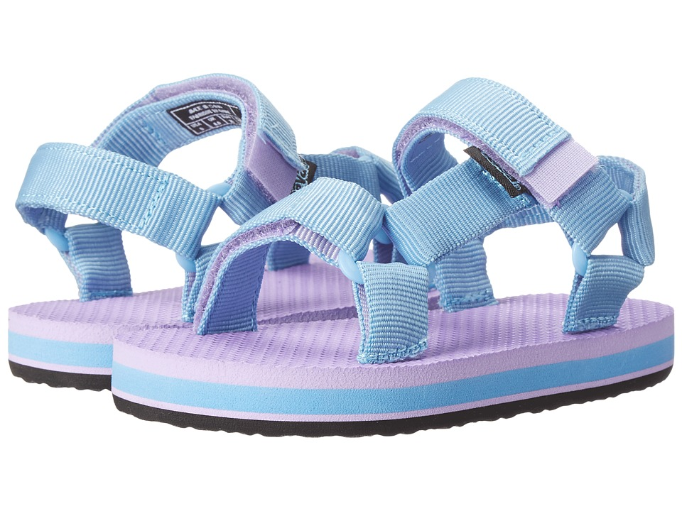 Teva Kids - Original Universal (Toddler/Little Kid) (Light Blue/Lavendar) Girls Shoes