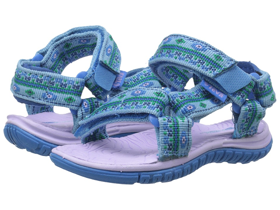 Teva Kids - Hurricane 3 (Toddler) (Hippie Blue) Girls Shoes
