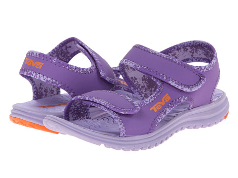 Teva Kids - Tidepool (Toddler/Little Kid/Big Kid) (Purple/Orange) Girls Shoes