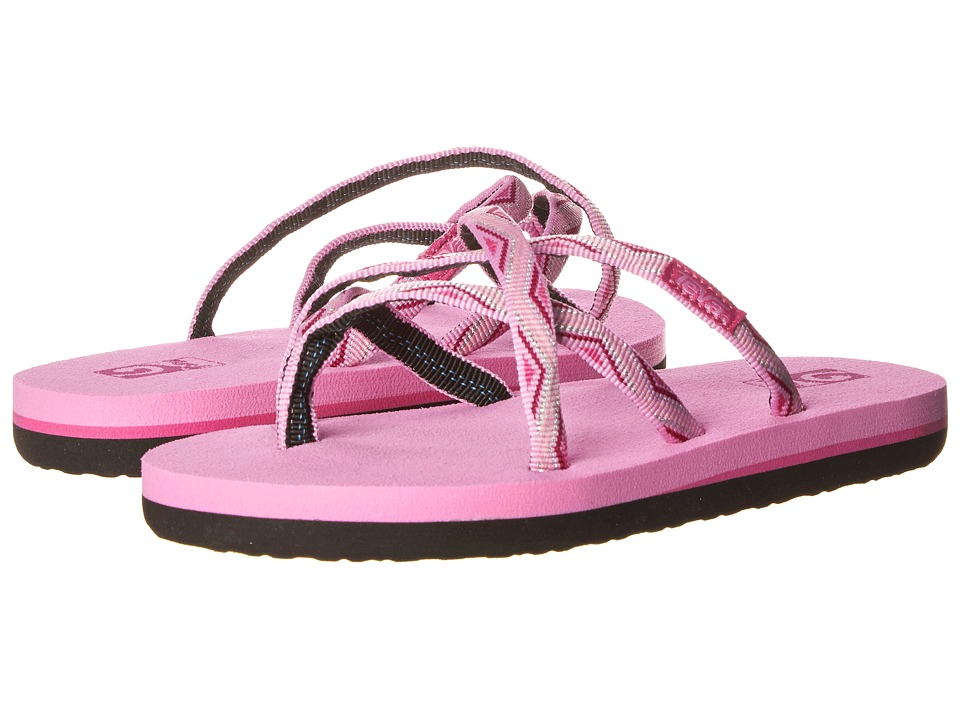 Teva Kids - Olowahu (Toddler/Little Kid/Big Kid) (Trueno Pink) Girls Shoes