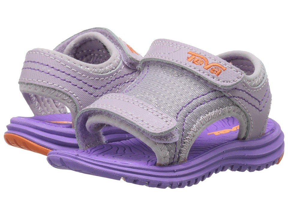 Teva Kids - Psyclone 5 (Toddler) (Purple/Orange) Girls Shoes