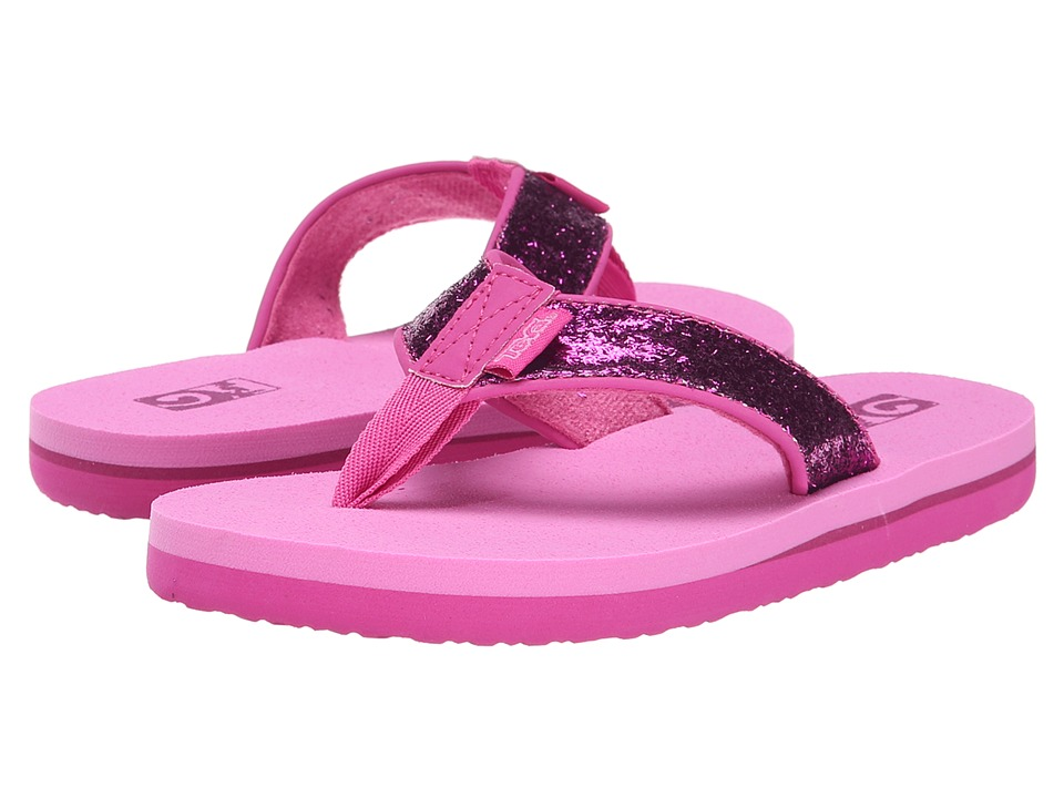 Teva Kids - Mush II (Little Kid/Big Kid) (Pink Glitter) Girls Shoes
