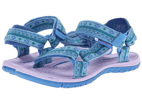 Teva Kids - Hurricane 3 (Toddler/Little Kid/Big Kid) (Hippie Blue) Girls Shoes