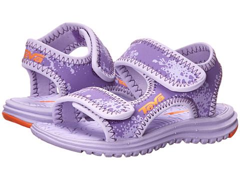 Teva Kids - Tidepool (Toddler) (Purple Print) Girls Shoes