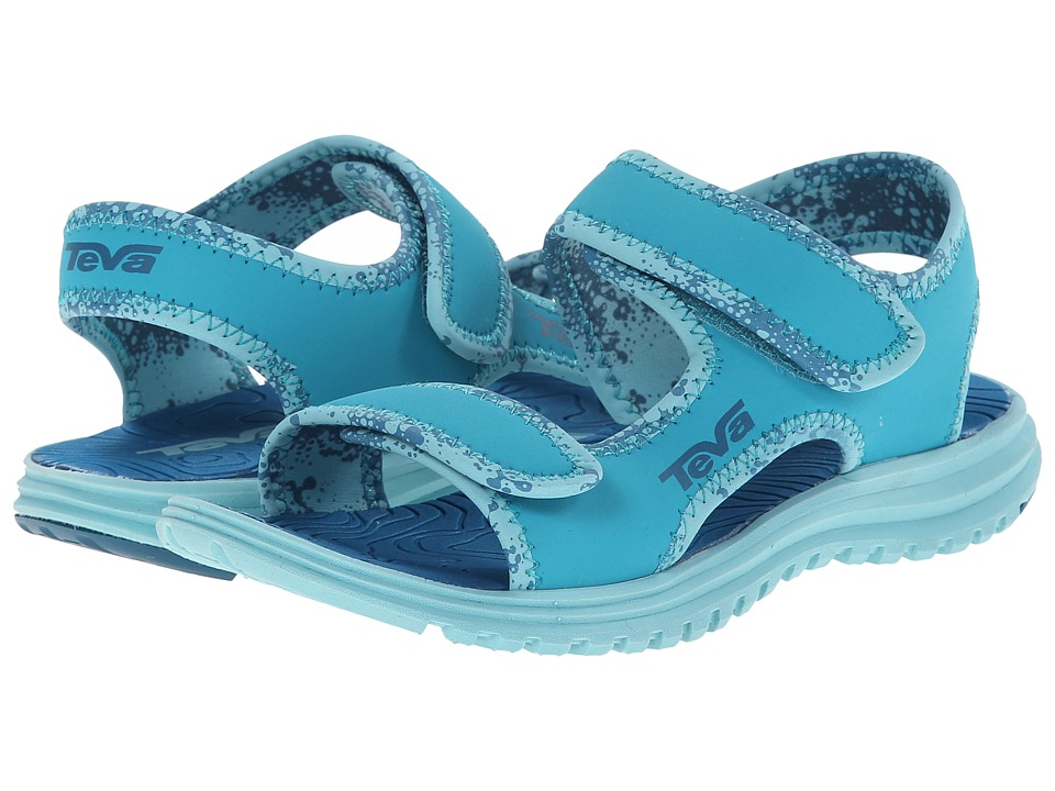 Teva Kids - Tidepool (Toddler/Little Kid/Big Kid) (Turquoise Blue) Girls Shoes