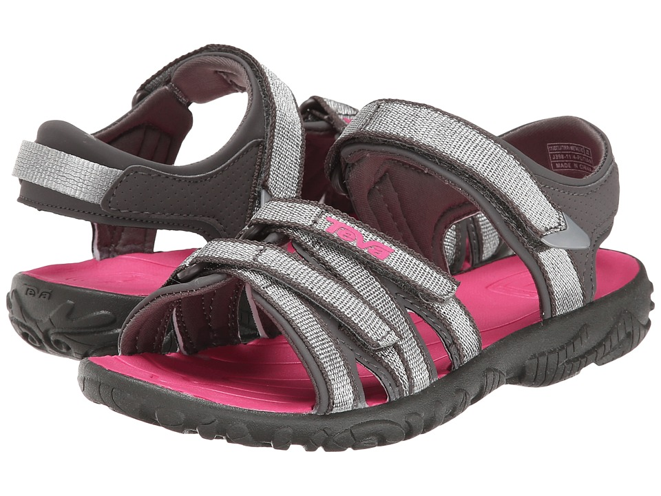Teva Kids - Tirra (Toddler/Little Kid/Big Kid) (Metallic Silver) Girls Shoes