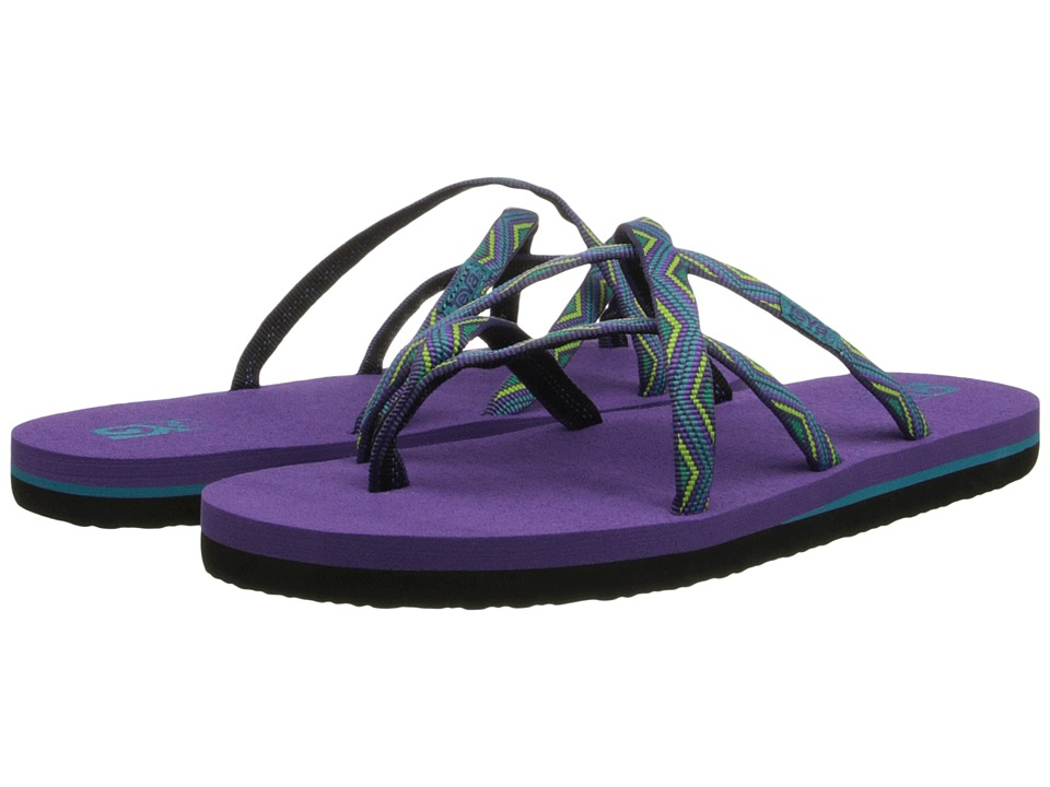 Teva Kids - Olowahu (Toddler/Little Kid/Big Kid) (Trueno Purple) Girls Shoes