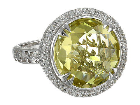 DeLatori - Pompeii Ring - 20-02-P422-02 (Lemon Quartz/White Topaz) Ring