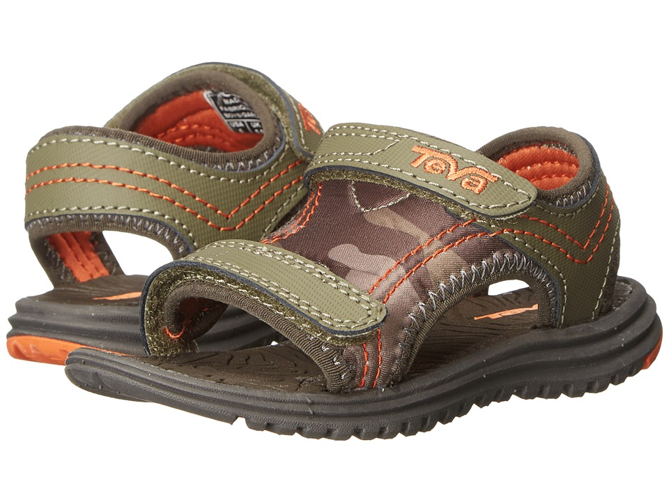 Teva Kids - Psyclone 5 (Toddler) (Camo Dark Olive) Kids Shoes