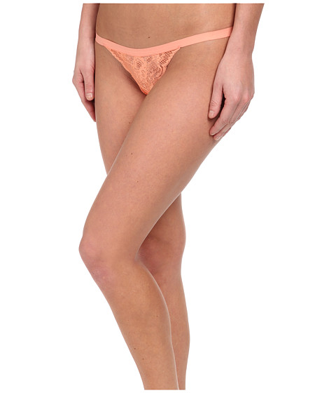 Cosabella - Never Say Never Skimpie G-String (Papaya Punch) Women