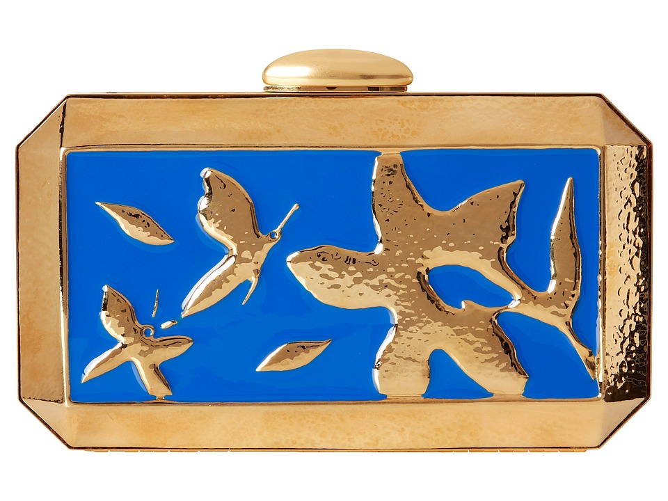 Oscar de la Renta - Saya (Cobalt/Cobalt/Academy) Handbags