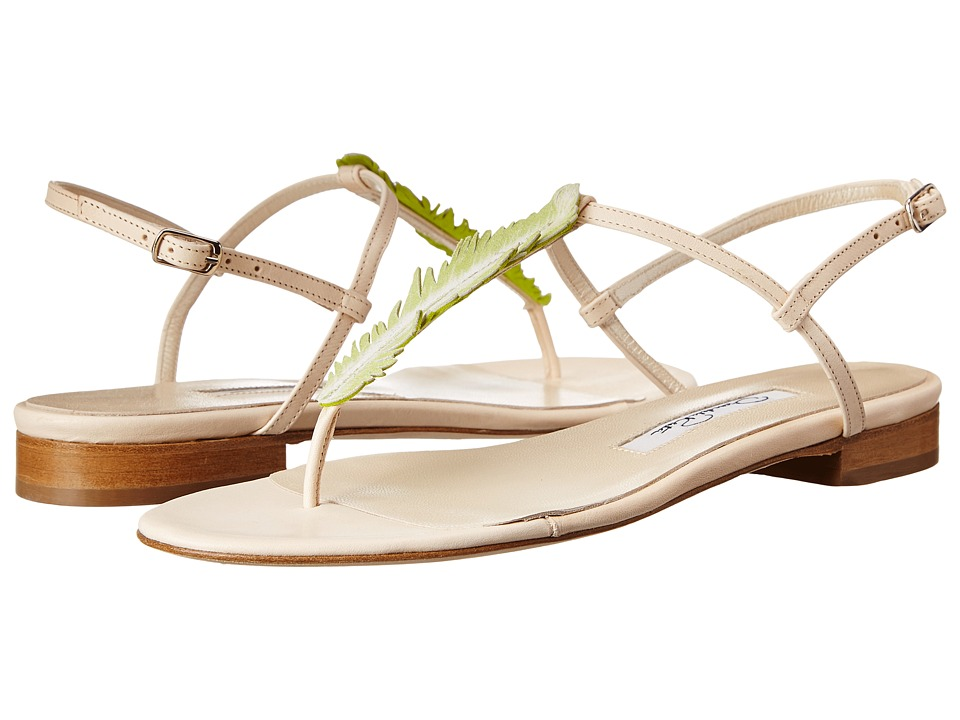 Oscar de la Renta - Ansley 10mm Slingback Sandal (Daffodil Suede) Women's Sling Back Shoes