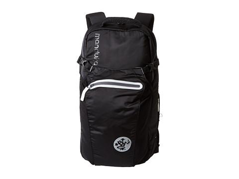 Manduka Go Free Yoga Mat Backpack (Black) Backpack Bags